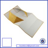 Folding Handmade Gift Box con Logo Hot Silver Foil