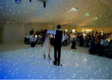 Acrylique Blanc DMX Mutifunctional LED Twinkling Starlit Dance Floor avec Sound Active / Automatic / Allon Programs