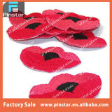 Heißes Sale Lest wir Forget Remembrance Iron auf Embroidery Poppy Flower Patches