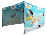 La alta calidad al aire libre surge la tienda del pabellón para hacer publicidad