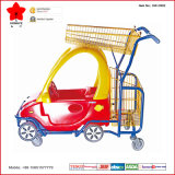 Achats Center Plastic Kid Trolley avec Toy Car (OW-C002)