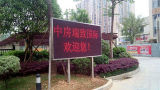 Color rosso LED Display per Outdoor Advertizing (P10)