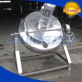 재킷 주전자 (50-1000L)를 기우는 증기 난방