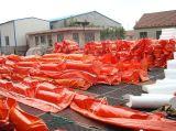 Boom do petróleo com material elevado do PVC