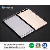 Hoja de aluminio de la fábrica de la pieza de metal de Shenzhen que estampa piezas