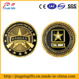 Plating antigo Metal Military Challenge Coin com Custom Logo