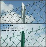Wir Kettenlink-Ineinander greifen-Zaun für Hausgarten-Depot