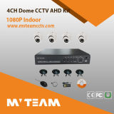 CCTV Camera System 4CH 720p Ahd DVR Kits de Shenzhen DVR Kit con 4PCS Dome Cameras