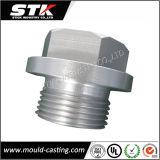 Parte de alumínio feita à máquina CNC com chapeamento (STK-M1102)
