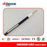 Cabo do CCTV RG6 Cable/CATV 50 do ohm de pequenas perdas mini/cabo coaxial
