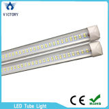 Indicatore luminoso del tubo di watt 4FT LED di Lerns 22 della radura del chip di riga del tubo di illuminazione LED 8 del negozio dell'ufficio doppio