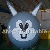 Aerostato gonfiabile del fronte di sorriso del partito del PVC per la decorazione del randello