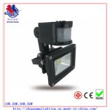 Sensor를 가진 10W Silver Sense LED Flood Light