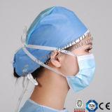 Máscara de 3 dobras, máscara protetora cirúrgica e máscara descartável