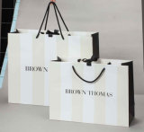 Paper bianco Bag/Shopping Bag/Gift Bag con Hot Stamping