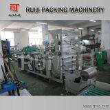 Bolso suave plástico de la manija del lacre lateral automático que hace la máquina (RFQH)