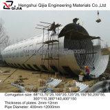 La Chine 10 ans d'usine de pipe en acier ondulée de vente en gros
