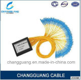 Поставщик Китая профессиональный на цене кабеля оптического волокна Splitter коробки ABS PLC Sc Splitter 1*4 1*8 1*16 PLC на метр