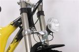 A bicicleta de montanha motorizada projetou por Elétrico Bicicleta Companhia