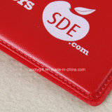 Carpeta de fichero modificada para requisitos particulares A4 de la carpeta de anillo del PVC 4D de la impresión de la insignia