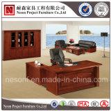 Bureau classique de directeur de placage en bois solide de modèle (NS-SL002)