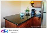 Cor preta da bancada do granito de Brazillian para o padrão superior contrário do granito da cozinha