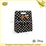 Bolso de compras de papel colorido con la cinta (JHXY-PBG0026)