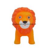 Jouets de vinyle de lion de PVC, jouets de dessin animé, jouets animaux