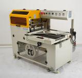 Luva automática L máquina da selagem da barra com a máquina Shrinking do calor para placas dos frascos e o equipamento elétrico do dispositivo