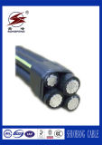 PE/XLPE/PVC Insulation 0.6/1kv ABC Aerial Bundle Cable