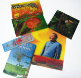 Imprimerie, livre de pop-up, carte postale 3D, horloge artisanale, aimant de réfrigérateur, carte de voeux (010)