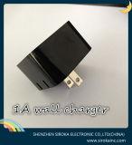 La qualité noire nous la fiche 5V 2.1A conjuguent chargeur de mur d'USB