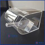 Coffre acrylique de sucrerie de 1 gallon avec Glisser-dans le support de porte et d'épuisette