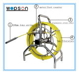 Câmera da serpente do encanamento da inspeção do esgoto do poço subaquático