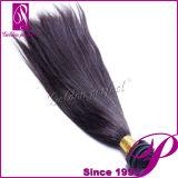 Tissage bon marché de cheveux humains de Vierge de Perm Yaki de produits de la Chine