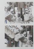 Remplissage de tube et machine automatiques de cachetage pour le tube en plastique et composé