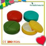 Organisateur de plastique de pillule de cas de la forme 4 de tablette