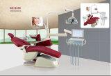 La mejor silla dental de Quanlity Foshan con el rectángulo colorido de la unidad