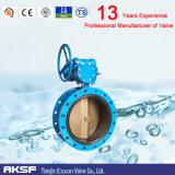 Válvula de mariposa concéntrica del borde para Ss316