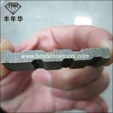 다이아몬드는 화강암 절단 잎 300-3500mm를 위해 톱날 세그먼트를