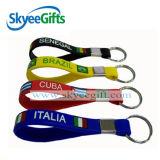 Trousseau de clés de bracelet de silicones de bracelet de main