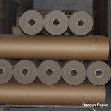 Wärmeübertragung-Seidenpapier der Sublimation-30GSM auf DrehCalander/Rollen-Wärme-Presse-Maschine