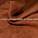Producción de China lavable tela del ante de Colcha