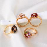 11722 горячее продавая хорошее кольцо ювелирных изделий способа Qualitty 18k Gold-Plated кристаллический для подарков женщин самых лучших