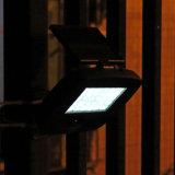 Свет обеспеченностью светильника стены ярда сада гаража датчика движения солнечной силы PIR напольного запасного освещения водоустойчивый 200lm 30 СИД