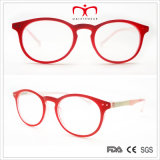 최신 Fashion Round Frame 및 Colorful Temple Ladies Reading Glasses (WRP507257)