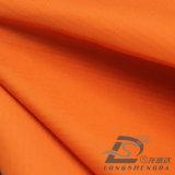 l'eau de 75D 260t et de vêtements de sport tissu 100% rayé de polyester de jacquard de peau de pêche de pongé tissé par jupe extérieure Vent-Résistante vers le bas (53026)