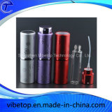 다채로운 알루미늄 향수 살포 분무기 화장품 병