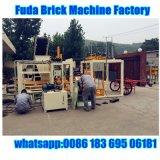 Deutschland-Technologie-Straßenbetoniermaschine-Block, der Maschine von der China-Fertigung herstellt