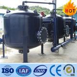 Ss304 Ss316 산업 물 처리 모래 필터